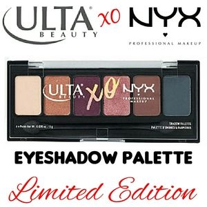 LE Ulta Beauty XO NYX Eyeshadow Palette